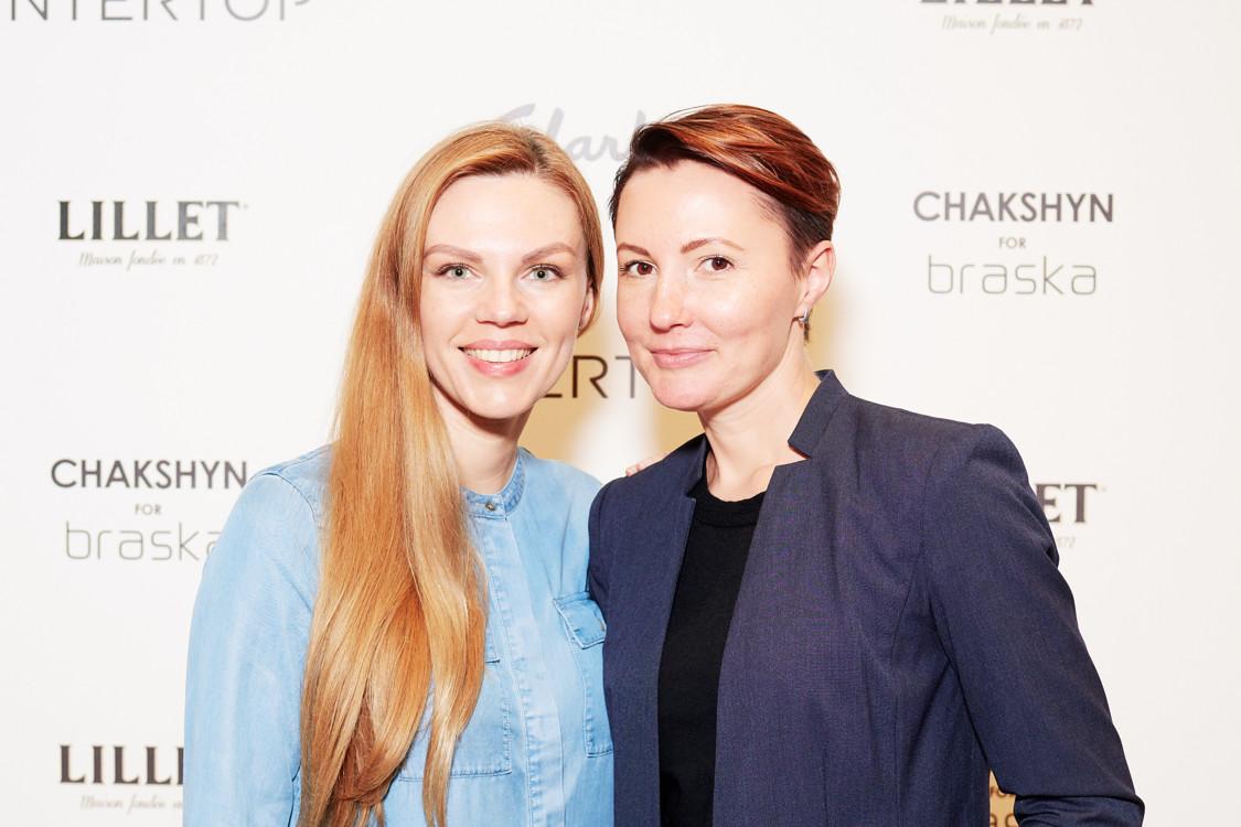 Валерия Толочина (слева)