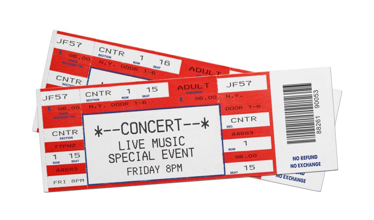 Квитки на концерт