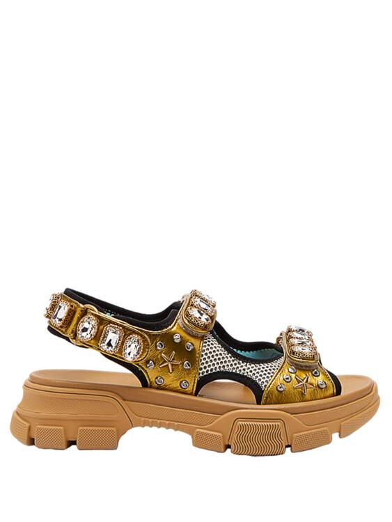 Шкіряні сандалі, Gucci