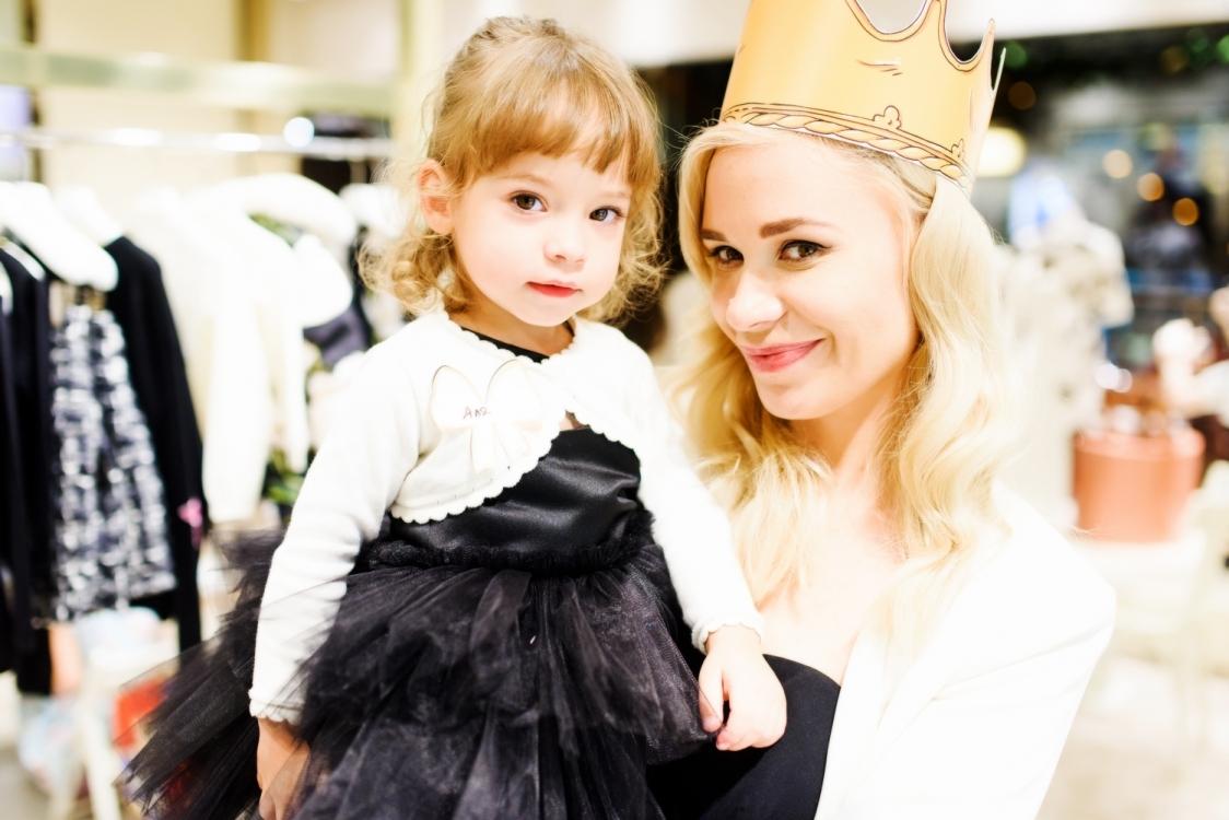 Юлия Чудновец  с дочерью
