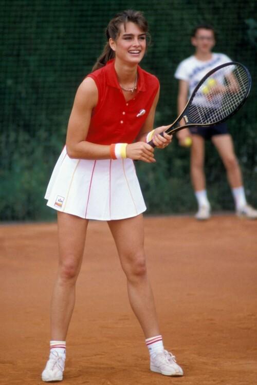 Брук Шилдс в Монако в июне 1983 года