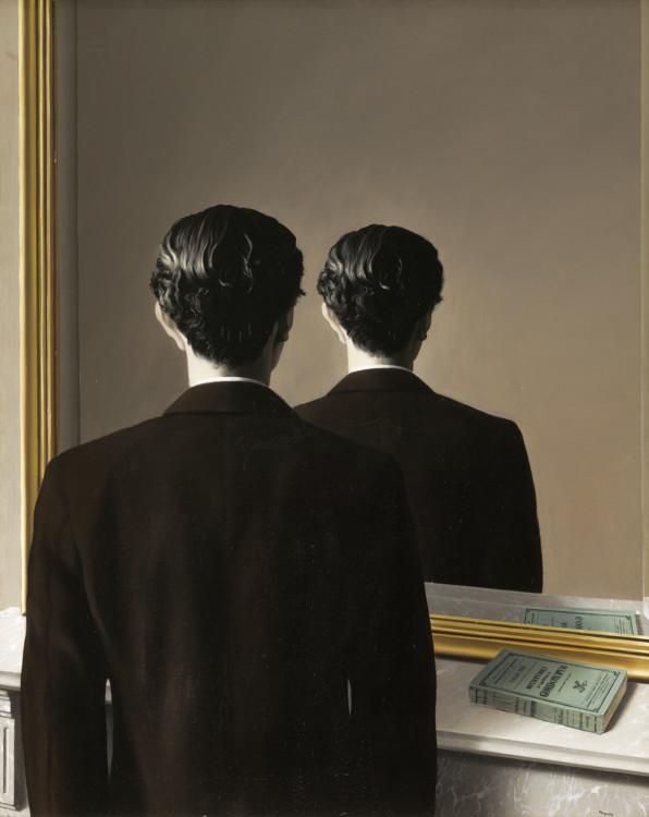 """Репродуцирование запрещено"", 1937, Музей Бойманса — ван Бёнингена"