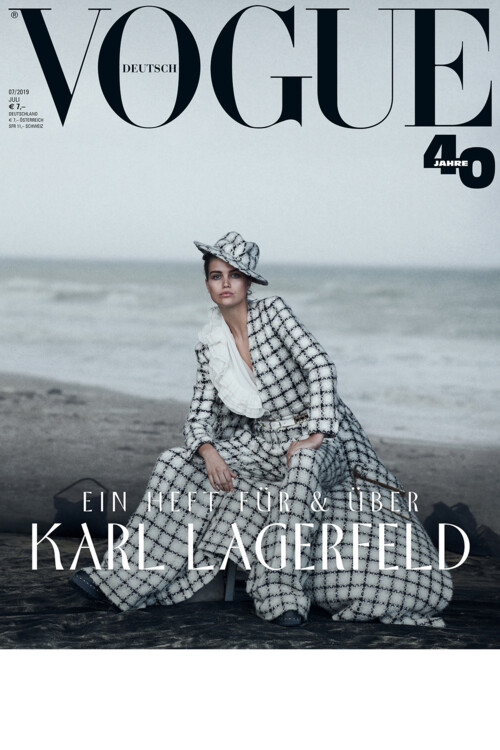 Vogue Germany, липень 2019