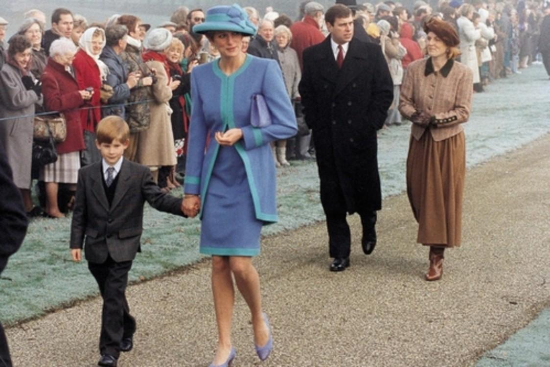 Принц Гаррі і Леді Ді, 25 грудня 1991 р.