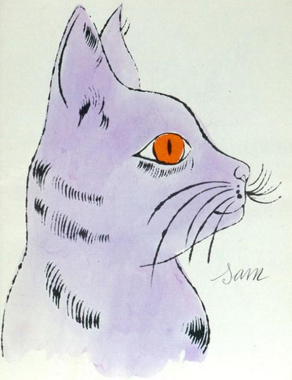 Сем, кішка Енді Ворхола