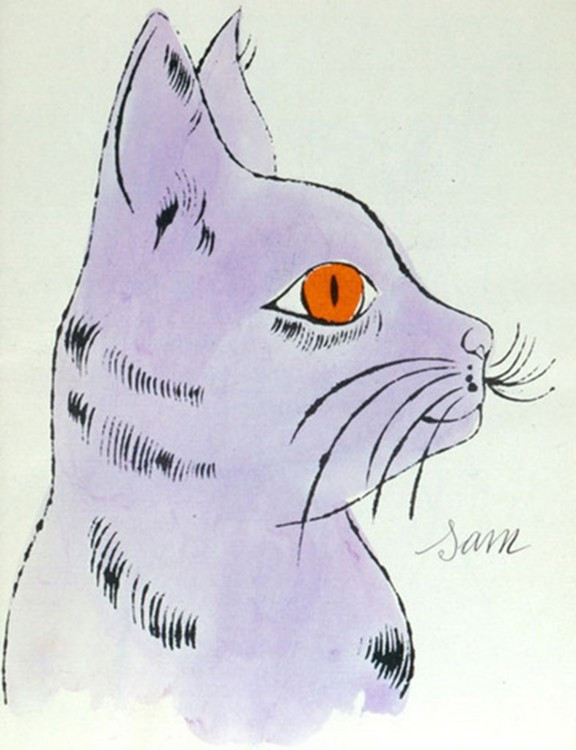 Сэм, кошка Энди Уорхола