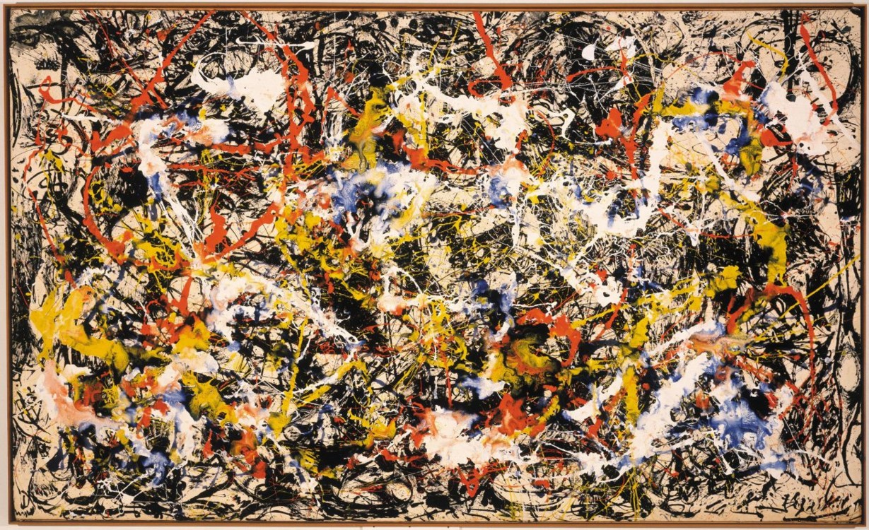 «Конвергенція», 1952 (Художня галерея Олбрайт-Нокс, Буффало)