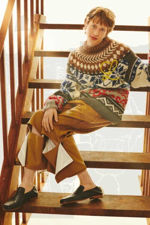 Loewe Menswear осінь-зима 2021/2022