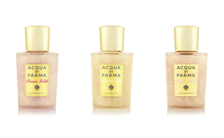 Парфюмированное масло для тела с мерцающим эффектом, Acqua di Parma