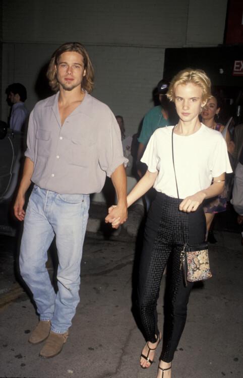 Брэд Питт и Джульетт Льюис, 1992