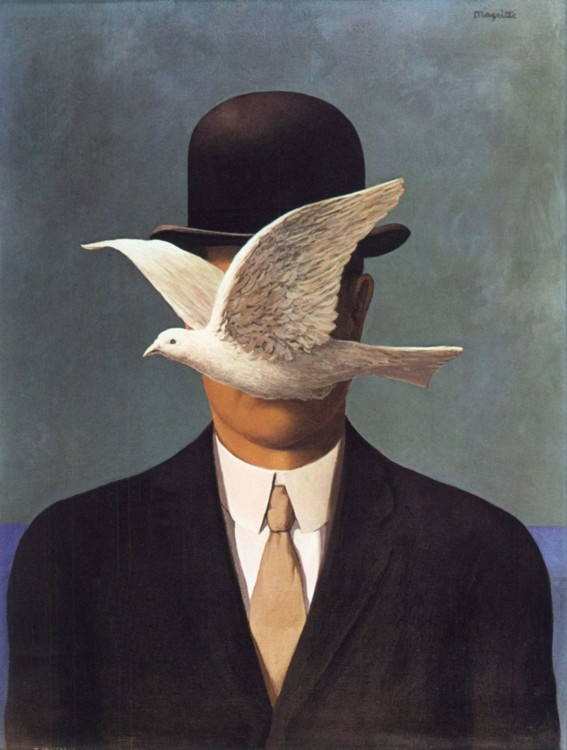 """""""Человек в котелке"""", 1964, частная коллекция"""