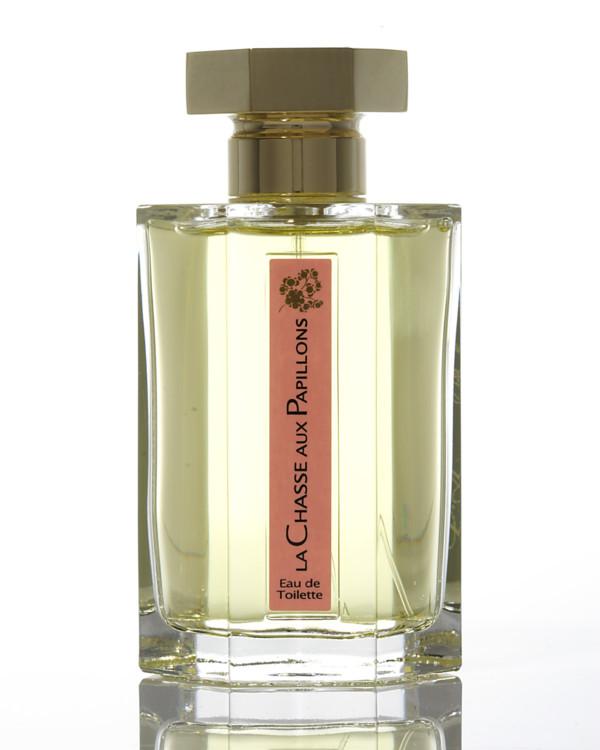 L'Artisan La Chasse Aux Papillons, с нотами целого букета – нежной липы, флердоранжа, жасмина, туберозы и иланг-иланга