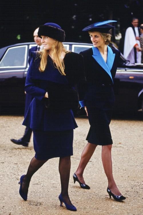 Принцеси Діана і герцогиня Йоркська, 25 грудня 1988 р.