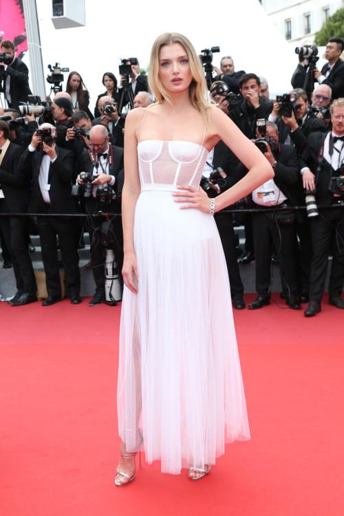 Лили Дональдсон в Christian Dior