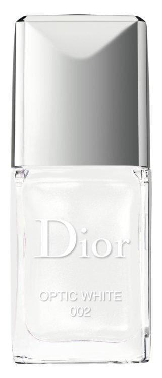 Лак Dior Vernis №002 Optic White, Dior (выйдет в мае, в летней коллекции макияжа Care & Dare)