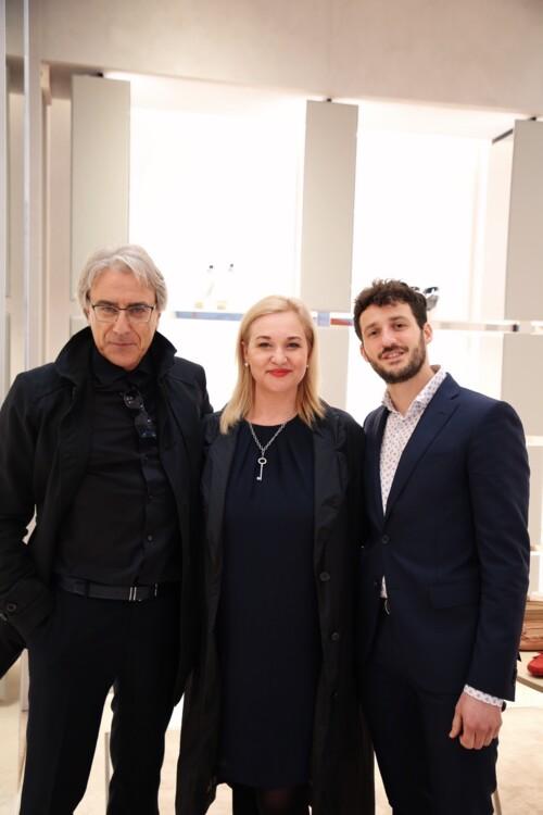 Мауріціо Аскеро, Вікторія Кушнерчук і Джованні Педролі
