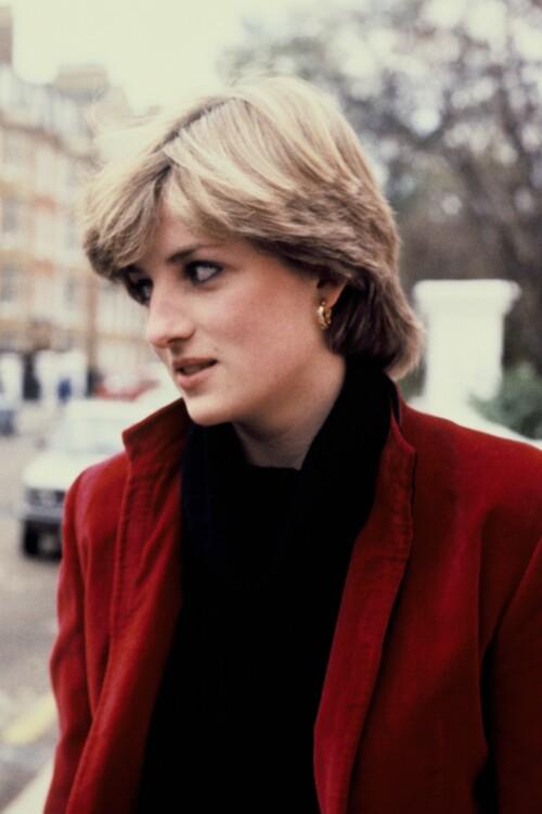 Принцесса Диана, ок.1990