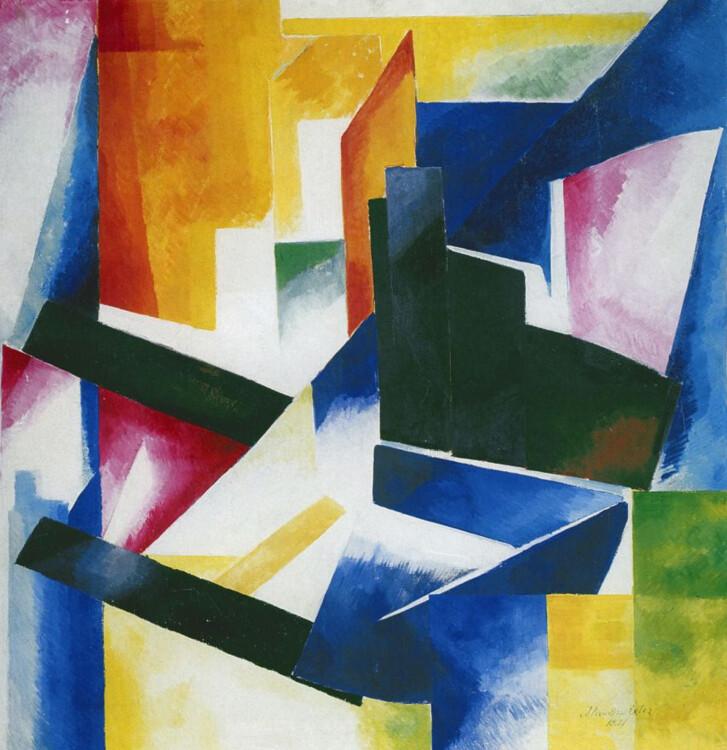 «Конструкция цветовых плоскостей», 1921