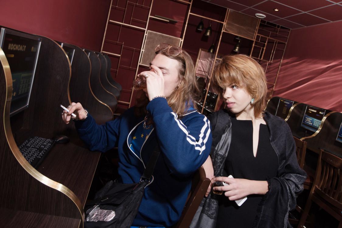 Никита Середа и Mary Lydon
