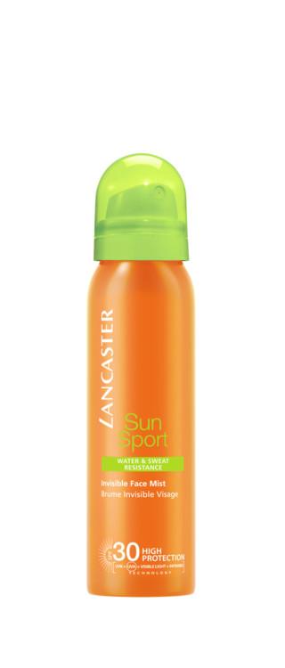Солнцезащитная дымка-спрей Sun Sport, переходящая от ИК-излучения, видимого света, UVA и UVB, Lancaster, SPF 30