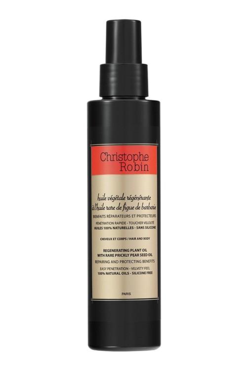 Восстанавливающее масло для волос Regenerating Plant Oil, Christophe Robin
