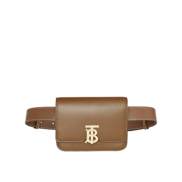 Шкіряна поясна сумка, Burberry