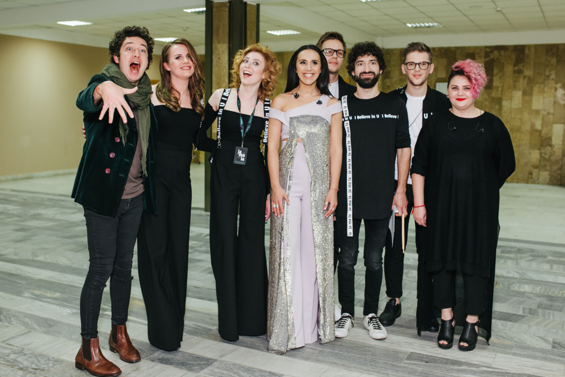 Дмитрий Шуров, Джамала и команда музыкантов певицы