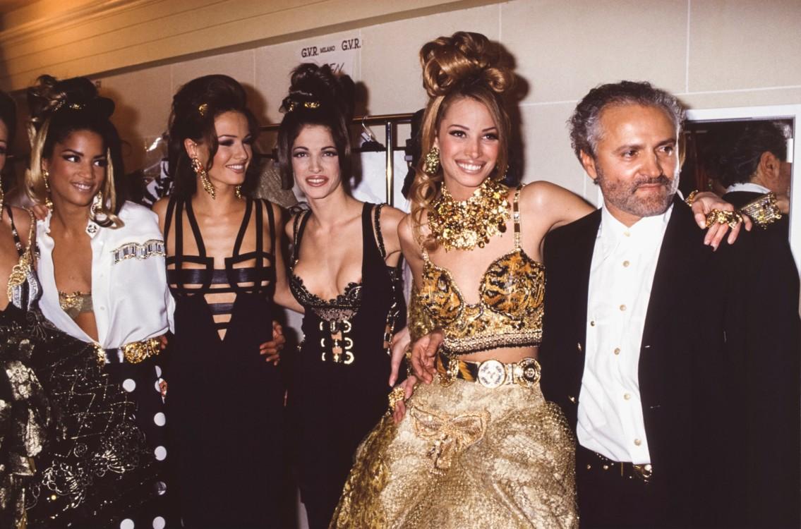Шоу Versace, 1992