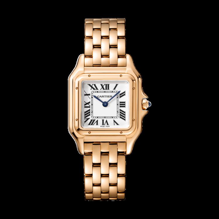 Часы Panthere de Cartier, розовое золото, кварцевый механизм