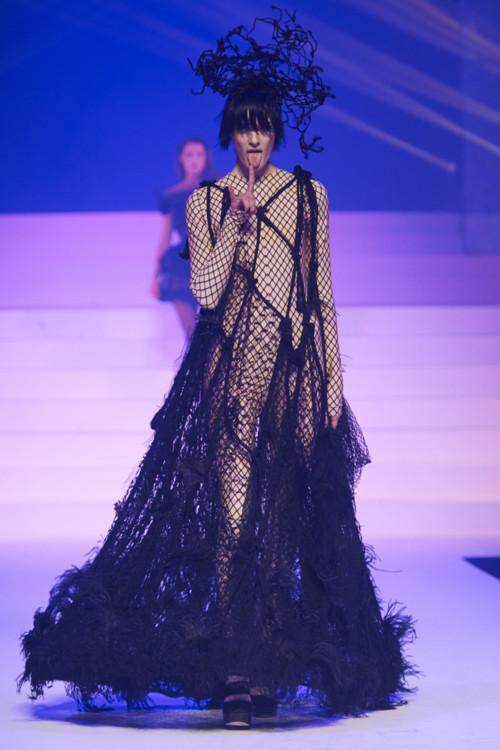 Марфа на шоу Jean Paul Gaultier Couture весна-літо 2020