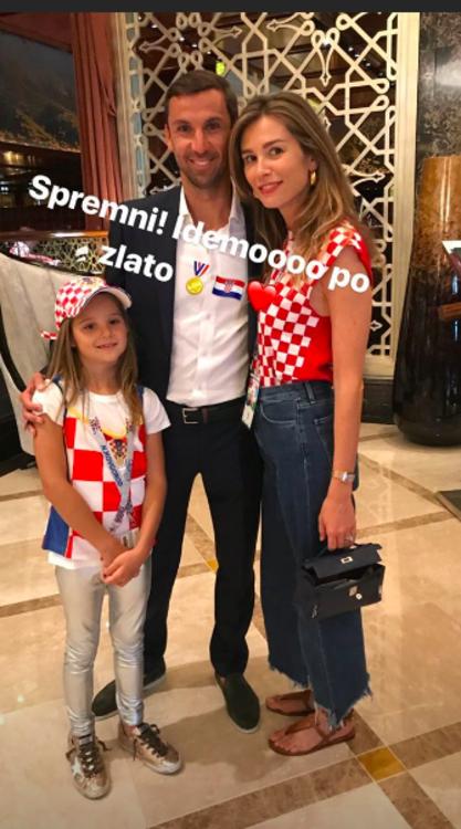 Дарио Срна, Мирела Форич и их дочь