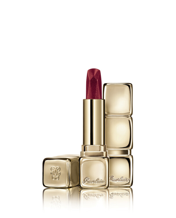 Помада KissKiss Diamond Lipstick з металевим покриттям №521 Red Jewel, Guerlain, лімітований випуск