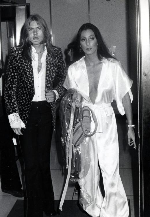 Шер и Грегг Оллман, 1975 год