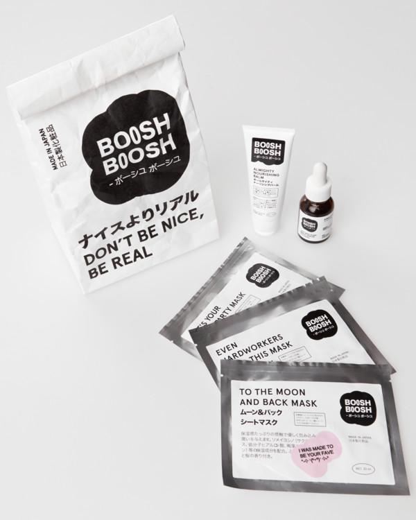 Средства по уходу за кожей: тканевые маски и сыворотки Boosh.Boosh