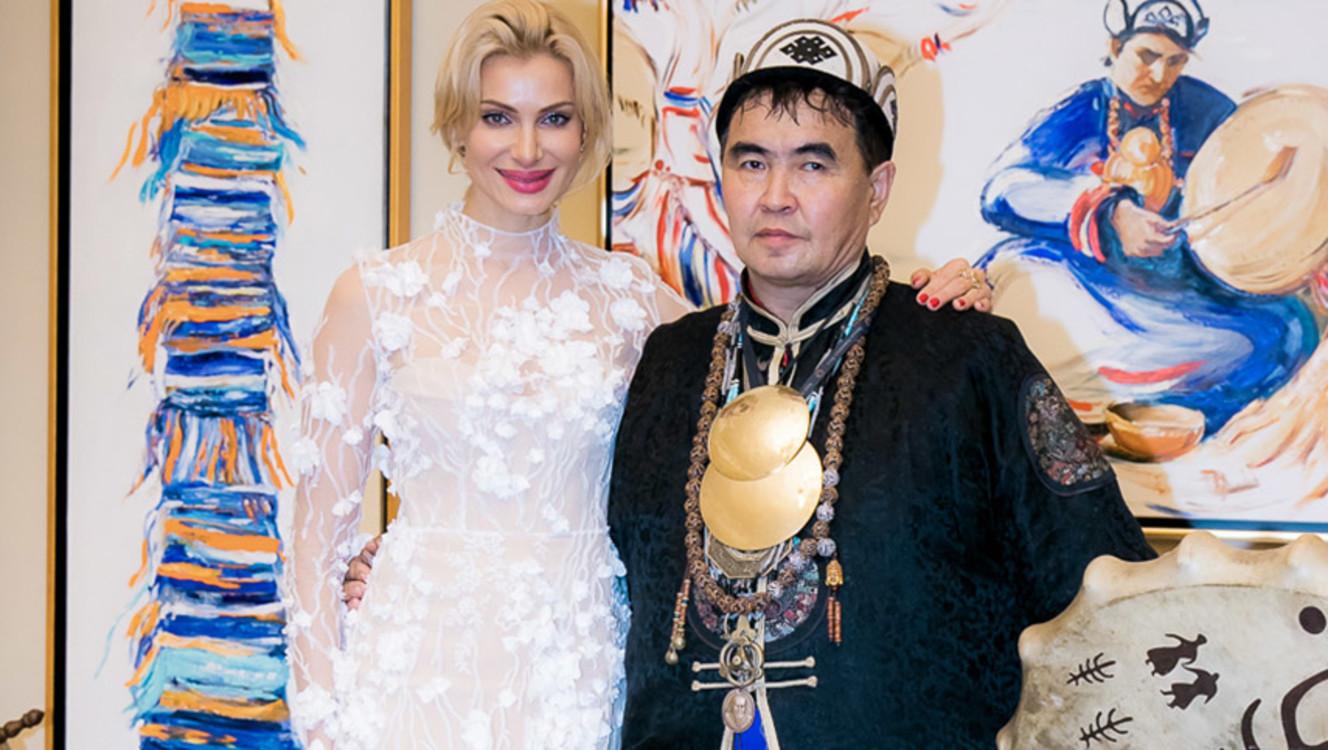 Валентин Хагдаев и Лана Кауфман