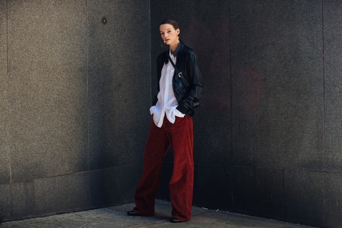Как носить вельветовые брюки этой осенью стритстайл фото примеры осень 2020 фото