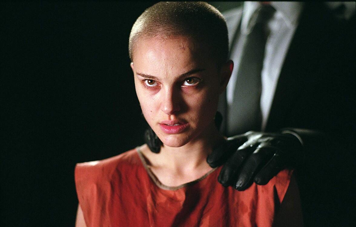 """Наталі Портман у фільмі """"V означає Вендетта"""""""
