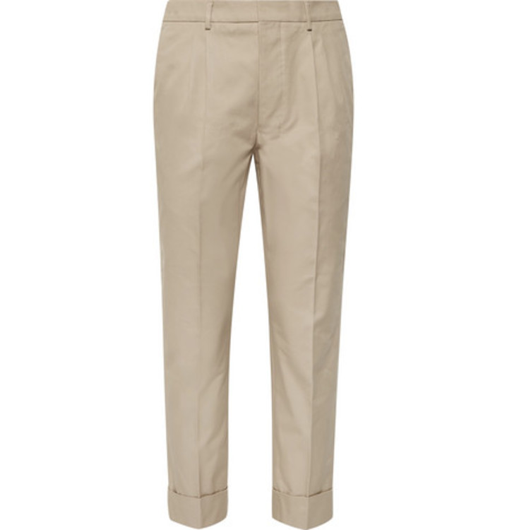 Хлопковые брюки Ami