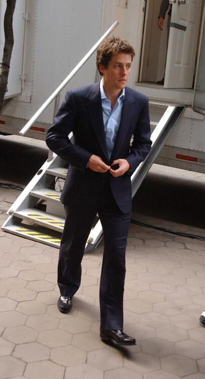 Хью Грант в Нью-Йорке, 2002