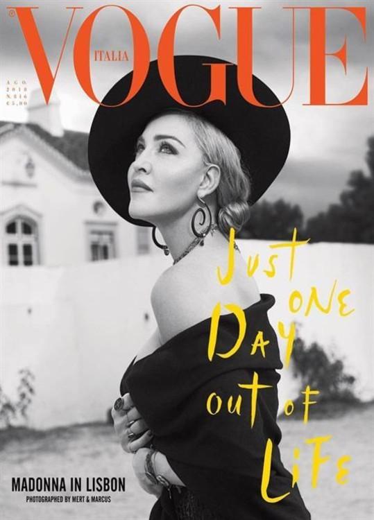 Vogue Italy, август 2018