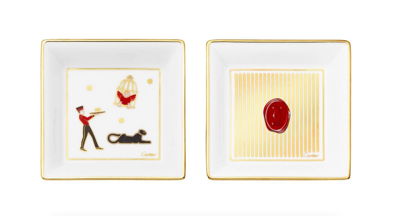 Набор миниатюрных подносов для украшений и безделушек, Cartier