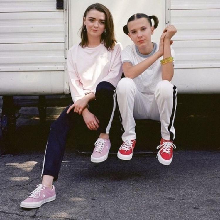 Мэйси Уияльмс в рекламе Converse