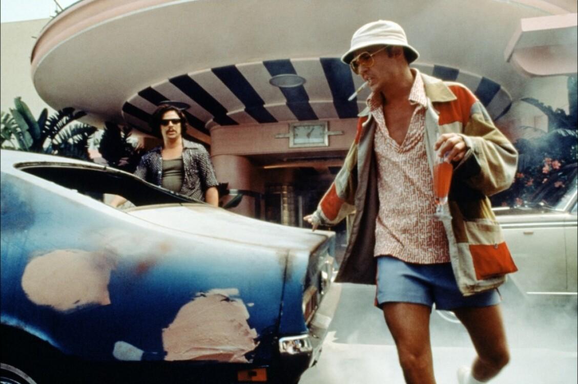 Джонни Депп в фильме «Страх и ненависть в Лас-Вегасе», 1998
