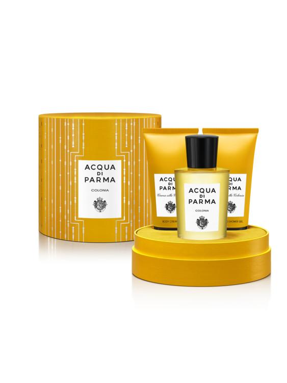 Набор: одеколон, гель для душа и крем для тела Colonia, Acqua di Parma