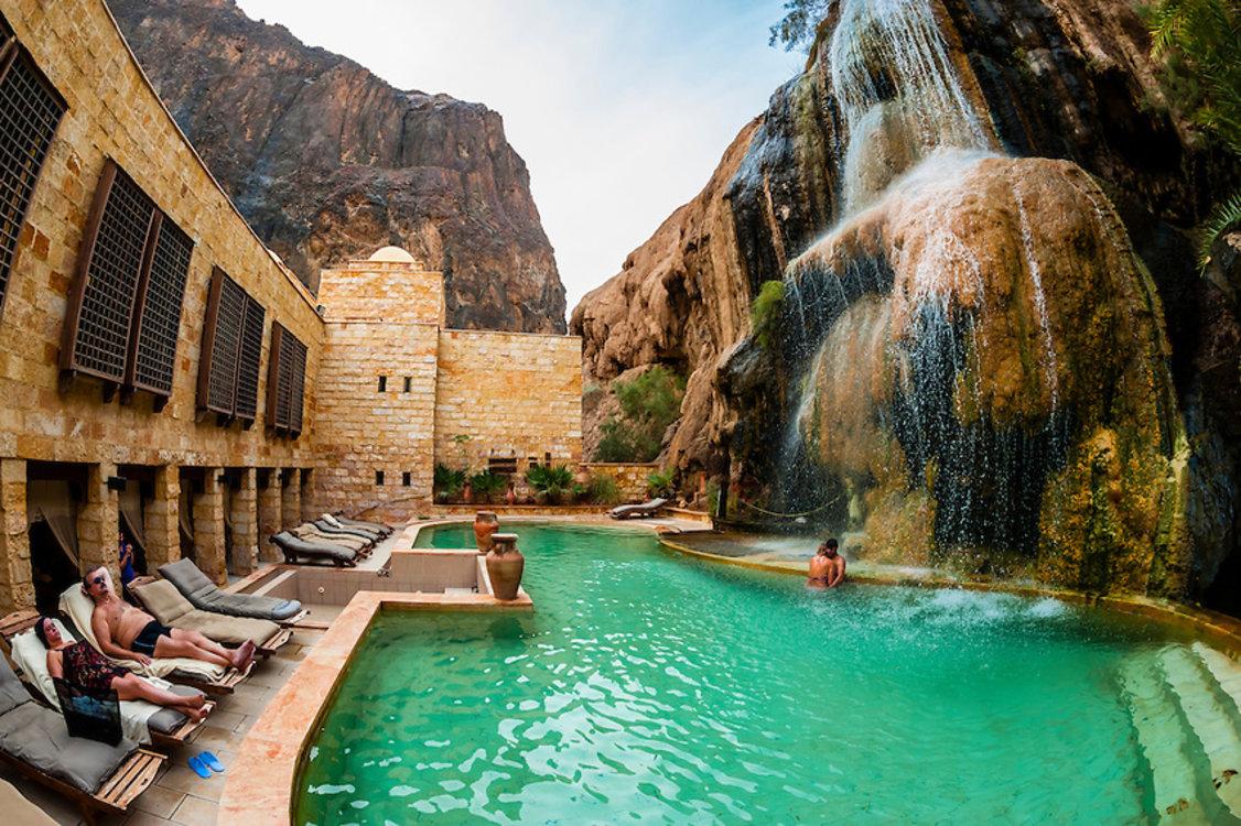 Ma'in Hot Springs, Мадаба, Иордания