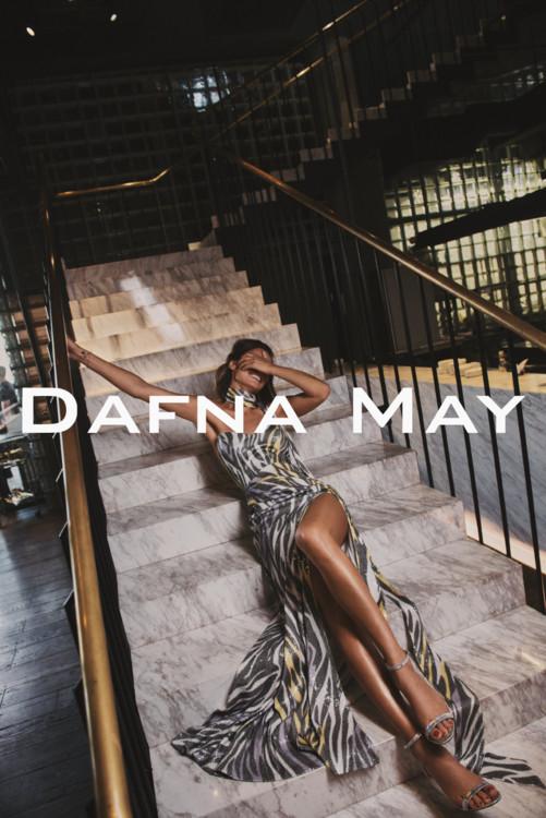 Коллекция Dafna May весна-лето 2019 называется AFTERPARTY, а ее лицом стала украинская модель Татьяна Рубан