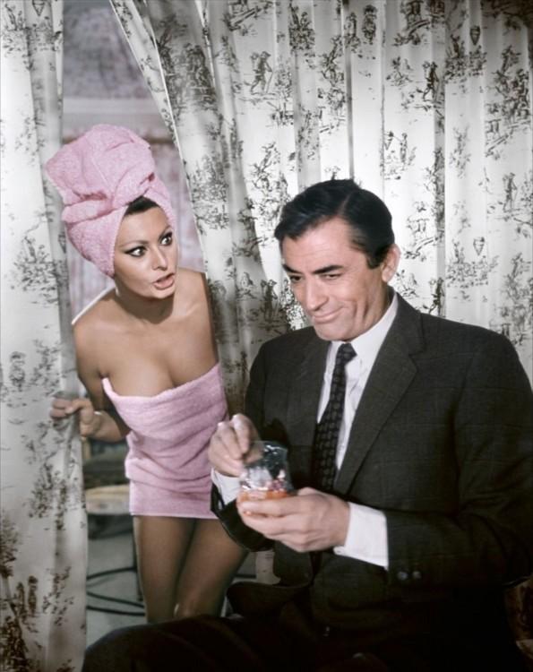 """Софі Лорен у фільмі """"Арабеска"""", 1966"""