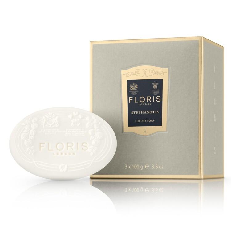 Парфюмированное мыло Stephanotis Luxury Soap, Floris
