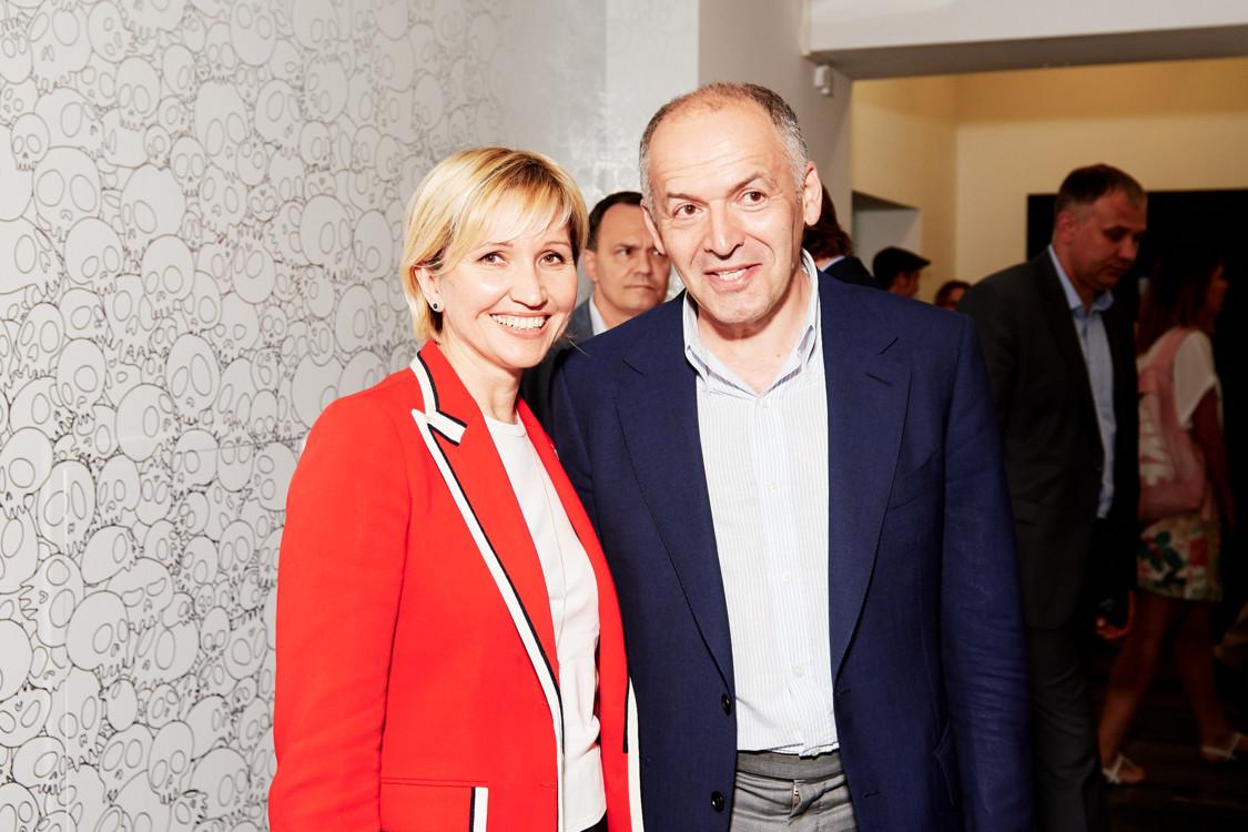 Виктор и Елена Пинчук