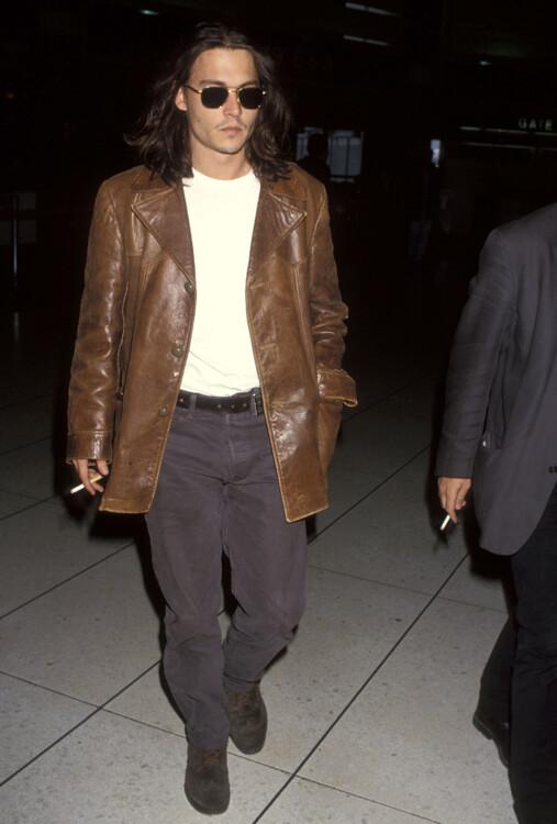 Джонни Депп в Лос-Анджелесе, 1993